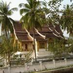 62. Luang Prabang.tempel in Luang Prabang bouwstijl