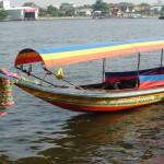 Bangkok.met de longtailboot