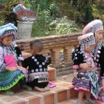 Chiang Mai.Akha minderheid