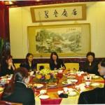 China etentje met agent