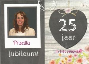 Priscilla 25 Jaar Reisvak