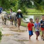 kinderen van Laos